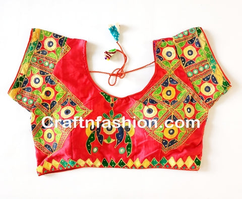 Handmade Ready made Saree Blouse