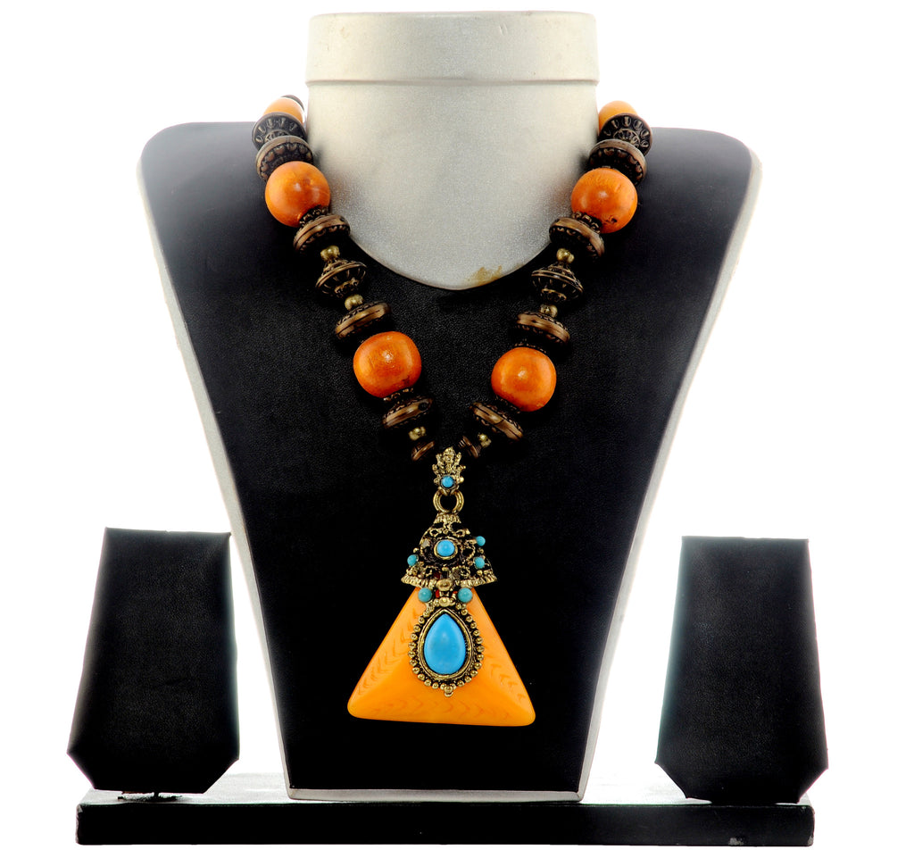 Indo Western Tribal  Necklace