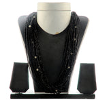 Indian Pearl Black Necklace
