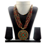 Navratri  Banjara Beded Necklace