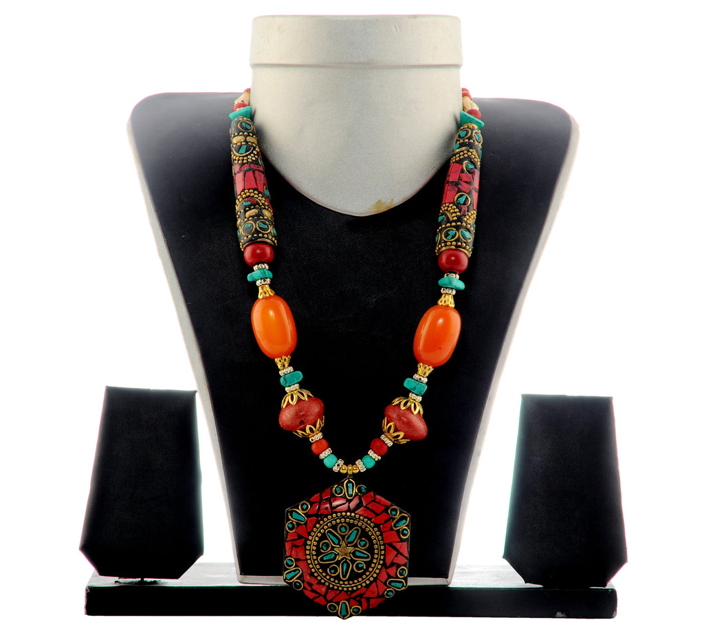 Colorful Banjara Beded western Necklace