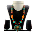 Navrtri Beded Party Wear Necklace