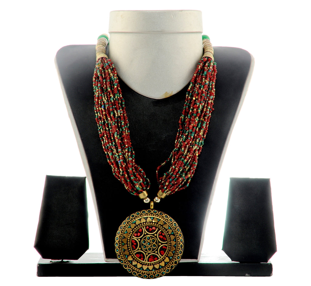 Indo western Long  Necklace
