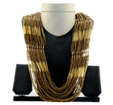 Western Pearl Black Necklace