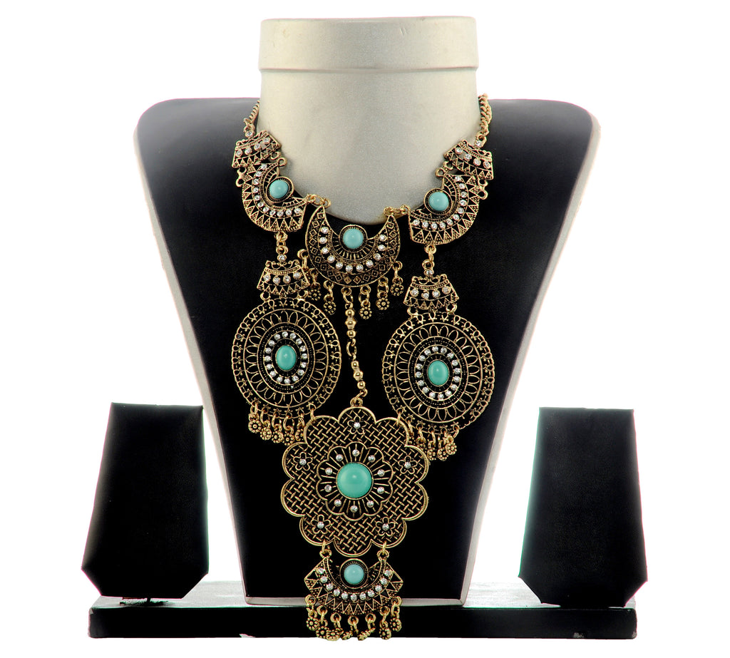 Long Party Wear Fashion Necklace