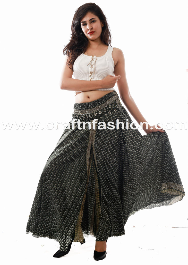 Women's Belly Trouser-Dance/Yoga Costume