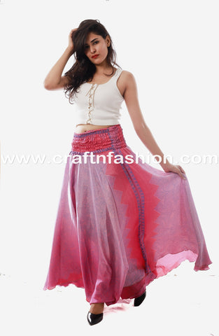 Indo Western Belly Dance Wear Palazzo
