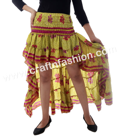Fashion Wear Fully Flared Design Ibiza Skirt.