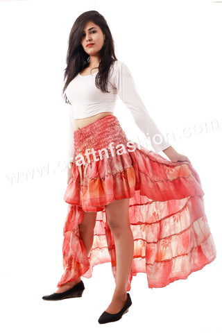 Women's Latest Design Tribal Ibiza Skirt.