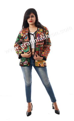 Indian Traditional Multi Colored Jacket