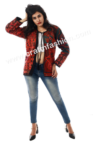 Indian Traditional Wear Jacket