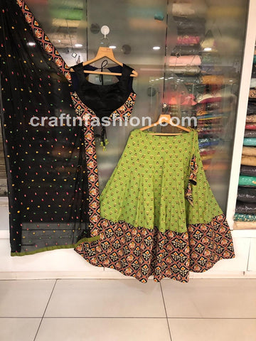Bollywood Style Dandiya Dance Wear Lehenga Choli