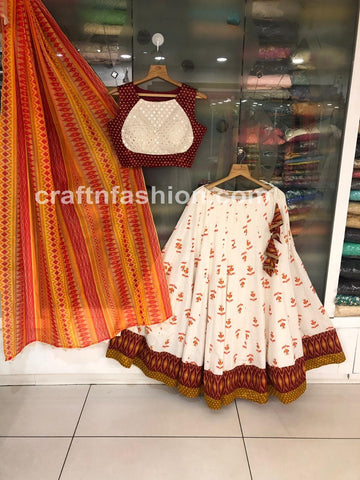 Designer Dandiya Dance Wear Chaniya Choli