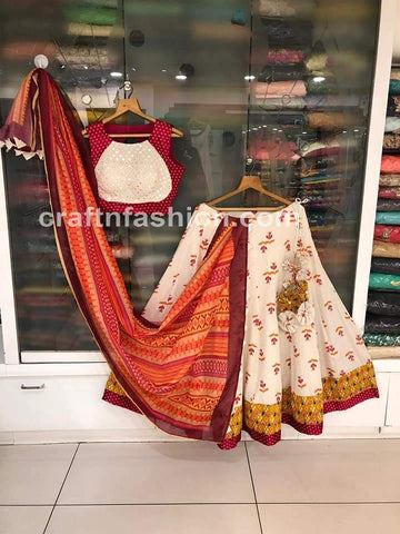 2019 Exclusive Mirror Work Chaniya Choli
