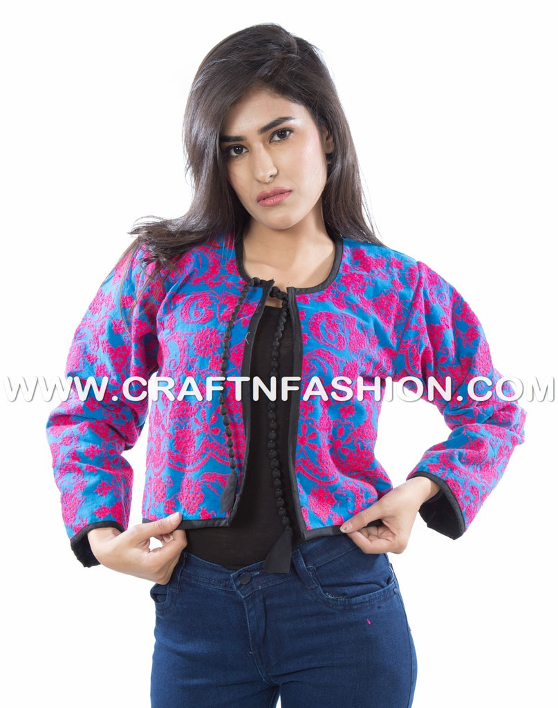 Indian Ethnic Wear Boho Jacket
