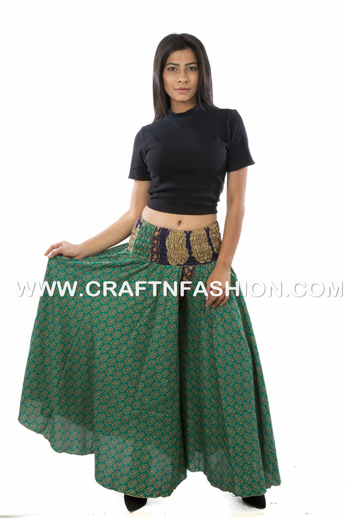 Boho Hippi Umbrella Trouser Pants