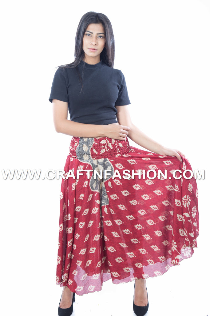 Indo Western Party Wear Palazzo Pants.