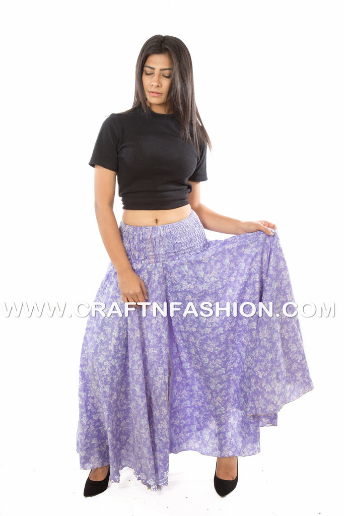 Boho Indo Western Party Wear Palazzo Pant.