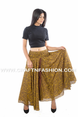 Hippie Saree Customized Umbrella Trouser Pant.