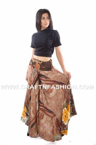 Bohemian banjara umbrella trouser pants.