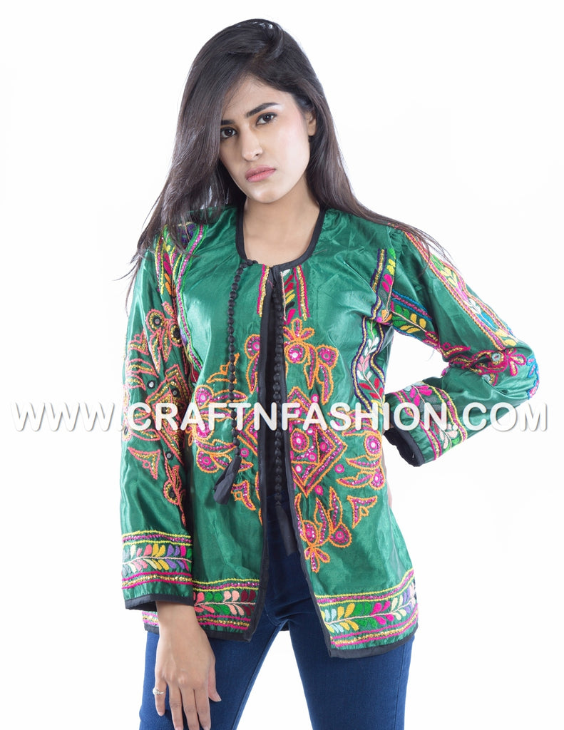 Designer Kutch Embroidered Vintage Jacket