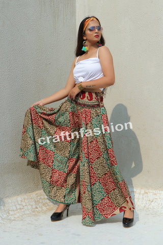 Women Fashion Wide Leg Palazzo Pant