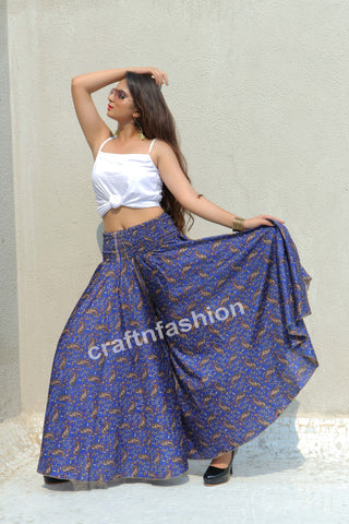 Belly Dance Wear Wide Leg Trouser