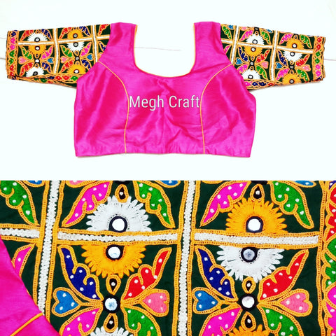 Navratri Wear Designer Saree Blouse.