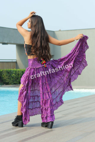 Gypsy Tribal Dance Wear Skirt