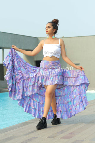 Hippie Tribal Dance Costume Ibiza Skirt