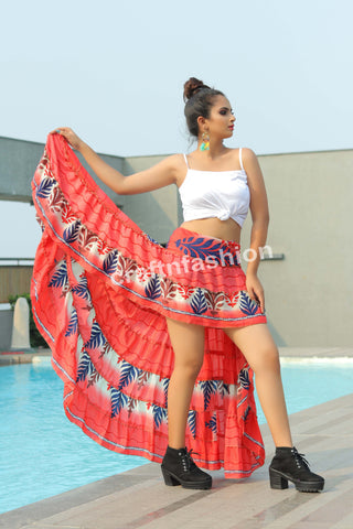 Bollywood Style Indo Western Skirt