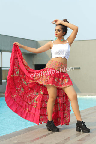 Beach Wear-Dance Wear Ibiza Skirt