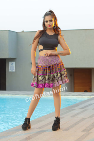 Bollywood Style Girl's Short Skirt