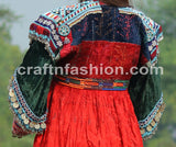 Embroidered Beaded Afghan Jacket