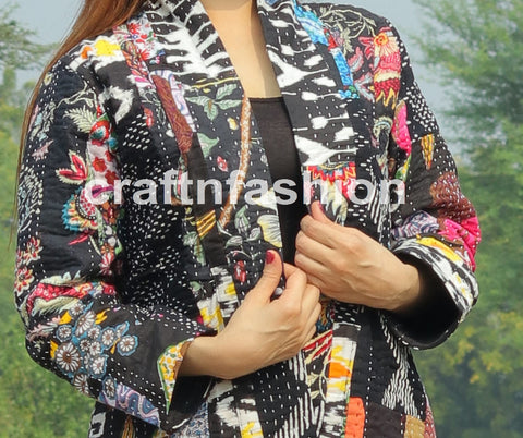 Winter Fashion Long Kimono Jacket
