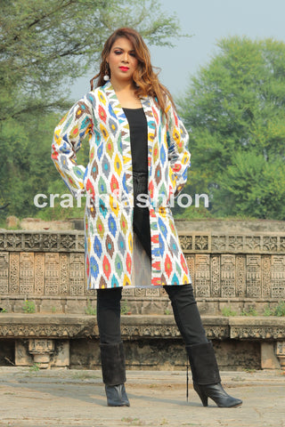 Girl's Fashion Wear Kantha Jacket