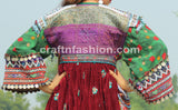 Vintage Beaded Tribal Afghani Jacket