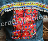 Gypsy Tribal Handmade Patch Work Jacket