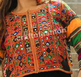 Multicolored Boho Hippie Tribal Jacket