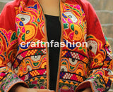 Hand Embroidered Banjara Kutch Jacket