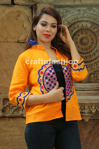 Mirror Work Banjara Boho Jacket