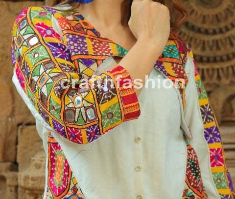 Fashion Wear Short Boho Jacket