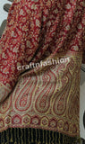 Paisley Pashmina Art Silk Shrug