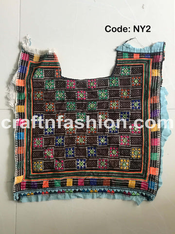 Mirror Work Banjara Neck Patch