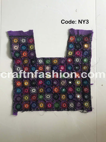Banjara Tribal Boho Neck Patch