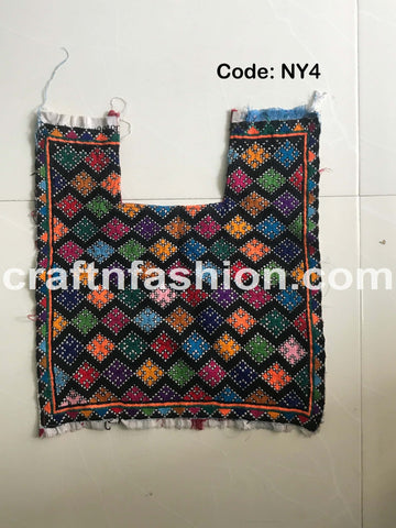 Rabari Embroidery Traditional Yoke