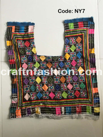 Multicolored Bohemian Hippie Banjara Patch