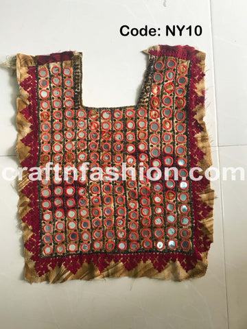 Mirror Work Kutchi Neck Yoke
