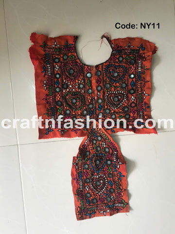 Traditional Rabari Embroidery Work Patch