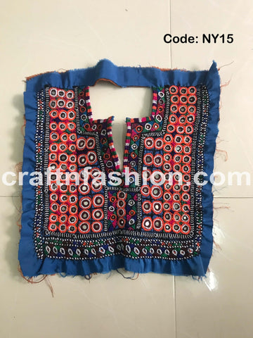 Kutch Handcrafted Neck Patch